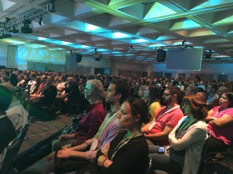 A packed Greenbuild closing plenary